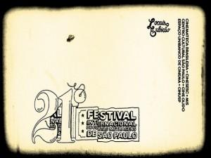 Logomarca 21 Festival Internacional de Curtas Metragens de SP